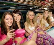 Gruppe schöne Frauen Stockfoto
