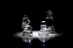 Gruppe Schachfiguren lizenzfreies stockfoto
