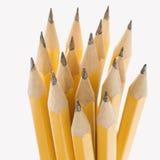 Gruppe scharfe Bleistifte. Stockfotos