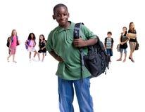 Gruppe Schulekinder Lizenzfreie Stockfotografie