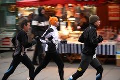 Gruppe Seitentriebe beim Silverster Lauf 2008 Stockfoto
