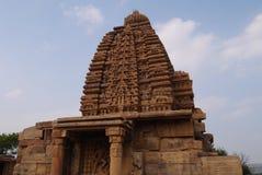 Gruppe Tempel in der Stadt von Pattadakal in Indien Stockfotos