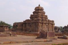 Gruppe Tempel in der Stadt von Pattadakal in Indien Stockbild