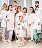 Gruppe von Doktor am Krankenhaus. Lizenzfreie Stockbilder