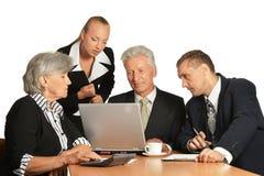 Gruppe von Geschäftsleute Lizenzfreie Stockfotos
