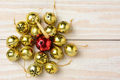 Gruppe von Jingle Bells Stockbild
