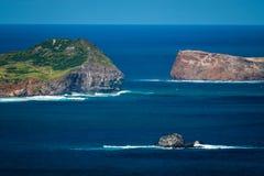 Gruppe von Pazifikinseln Ozean lizenzfreies stockbild