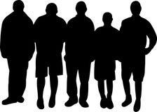Gruppe von Personen Lizenzfreie Stockfotografie