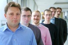 Gruppe von Personen Stockfotos