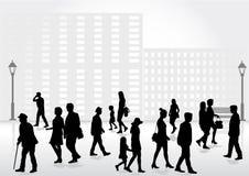 Gruppe von Personen Masse der Leute Stockfotografie