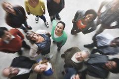 Gruppe von Personen Team Diversity Smiling Concept lizenzfreie stockfotografie