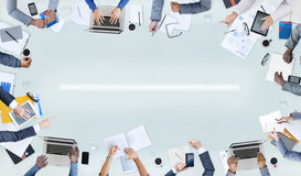Gruppe von Personenen-und Geschäfts-Konzepte Stockfotografie