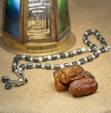 Gruppe von Ramadan Islamic Tradirion Icons lizenzfreie stockfotos