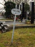 Gruppe 1, Wenen Cementery Stock Afbeeldingen