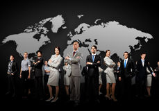 Gruppe Wirtschaftler Lizenzfreies Stockfoto