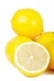 Gruppe Zitronen Lizenzfreies Stockbild