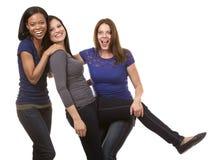 Gruppe zufällige Frauen lizenzfreie stockfotografie
