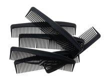 Gruppen av den generiska barberaren shoppar hårkammar Royaltyfri Bild