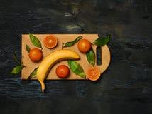 Gruppen av nya frukter Arkivbilder