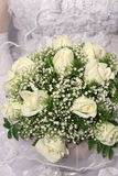 gruppen blommar bröllop Royaltyfria Bilder