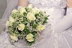 gruppen blommar bröllop Arkivfoto