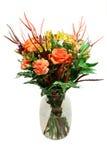 gruppen blommar vasen royaltyfria bilder