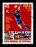 Gruppen C u. D, Fußball-Weltcup - Südafrika-serie, circa 2010 lizenzfreie stockfotos