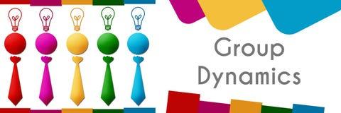 Gruppen-Dynamik 947 stock abbildung