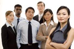 Gruppen-führender Vertreter der Wirtschaft 4 Lizenzfreie Stockfotos