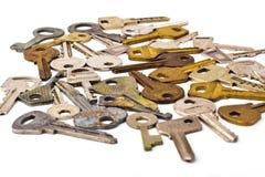 gruppen keys white Arkivfoton