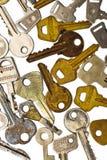 gruppen keys white Royaltyfri Bild