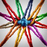 Gruppen-Zusammenhalten Lizenzfreies Stockbild