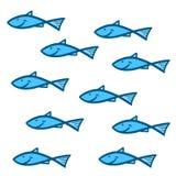 Gruppenfische Stockbilder