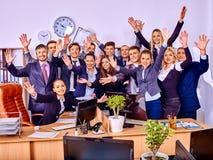 Gruppengeschäftsleute im Büro Lizenzfreies Stockfoto
