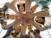 Gruppeninteraktion lizenzfreies stockfoto