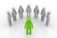 Gruppenleiter Concept Lizenzfreie Stockfotos