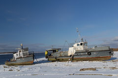 gruppfartygflod Arkivfoton