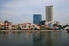 gruppflod singapore Arkivfoton