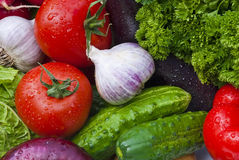 gruppgrönsaker Royaltyfria Foton