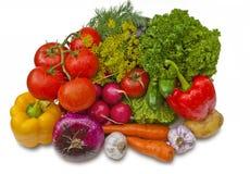 gruppgrönsaker Royaltyfri Foto