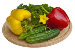 gruppgrönsaker Arkivbilder