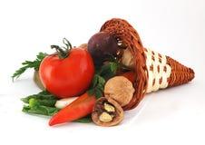 gruppgrönsaker Arkivfoton