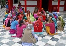 gruppindia kvinnor Fotografering för Bildbyråer