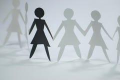 gruppiv-womane Royaltyfri Foto