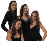 gruppkvinnor Royaltyfria Foton