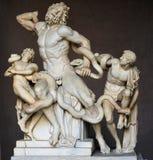 grupplaocoonmuseum vatican Royaltyfria Bilder