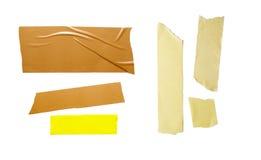 Gruppo 1 del nastro adesivo Immagini Stock