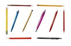 Gruppo 2 delle matite Fotografie Stock Libere da Diritti