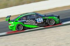 Gruppo ABBA BMW M3 V8 24 ore di Barcellona Fotografia Stock Libera da Diritti