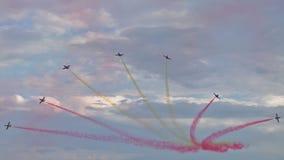 Gruppo acrobatici spagnolo Immagini Stock Libere da Diritti